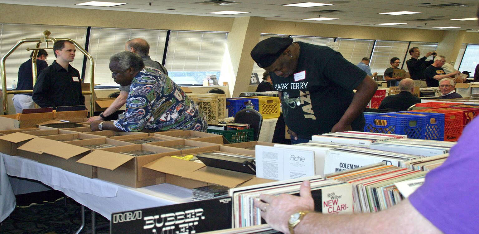 44th Annual Jazz Record Collectors' Bash June 22-23, 2018